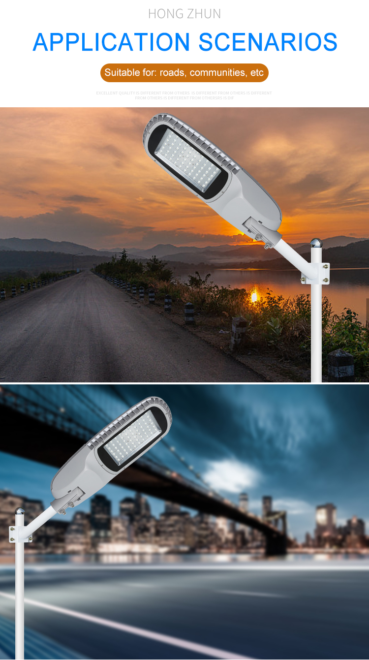 High brightness smd waterproof ip65 outdoor 100w 150w LED Street Light