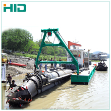 china river sand pumping dredger