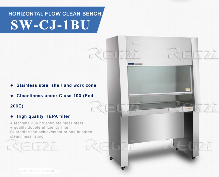 < Stainless Steel> Clean Bench/Laboratory Equipment Horizontal Flow