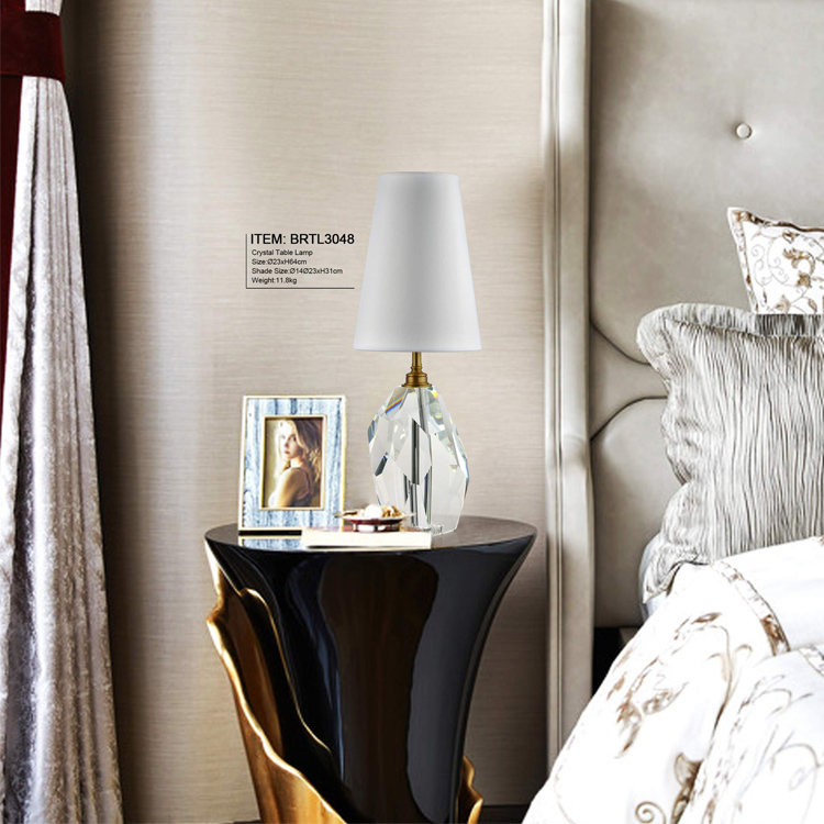 Polyhedron Crystal Table Lamps