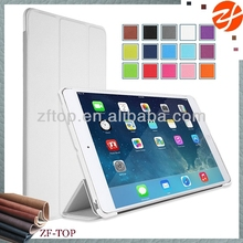 PU leather sticker on PC cover 3 folded case for ipad mini 2