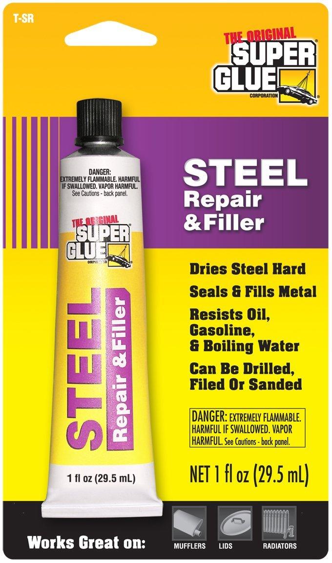 Super Glue Super Glue T-SR12 Steel Repair and Filler, 12-Pack(Pack of 12)