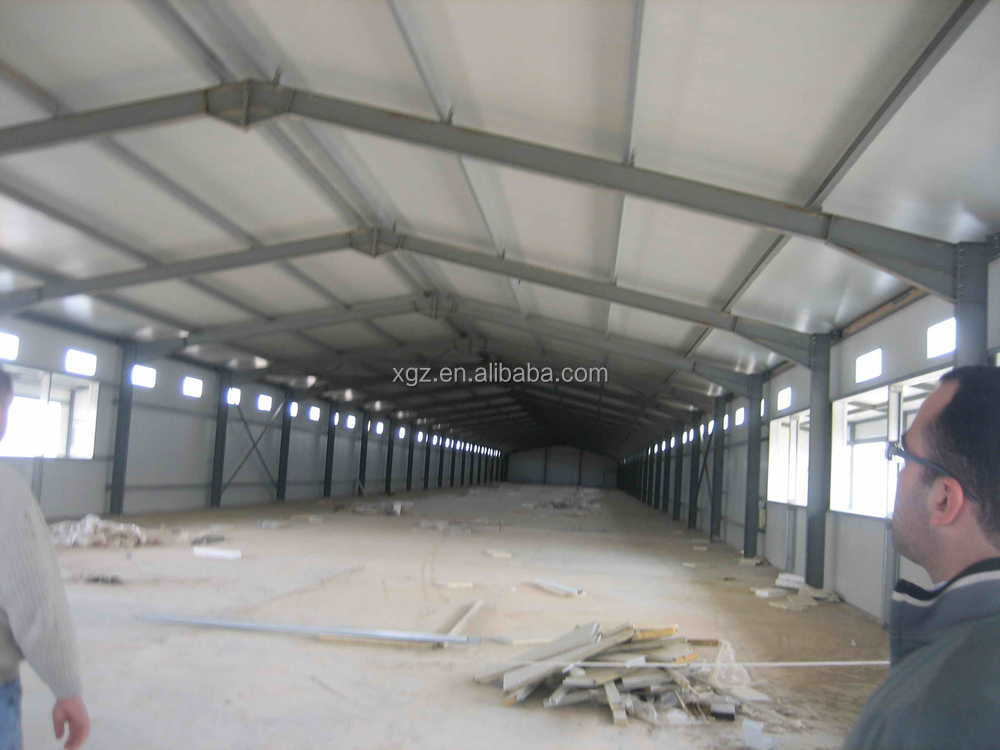 automatic feeding system chicken farm plan design steel chicken house for broiler in pakistan