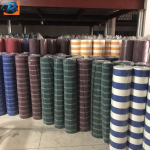 100% solution dyed acrylic with oil proof, waterproof, anti-uv outdoor awning fabric