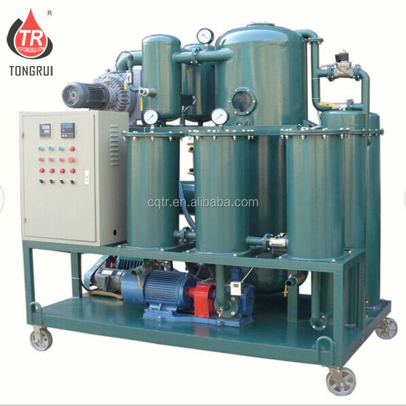 Transformer Oil Filtration Purifying to Clean Oil Making Machine