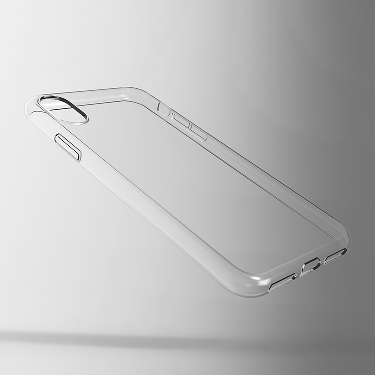 High clear transparent soft tpu mobile phone cases for iphone X