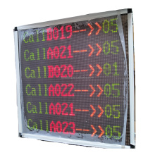 high quality wireless bank queue management system led display main number display