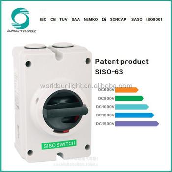 Schlüsselschalter Trennschalter 3-phasen-dc 1000v - Buy Product on ...