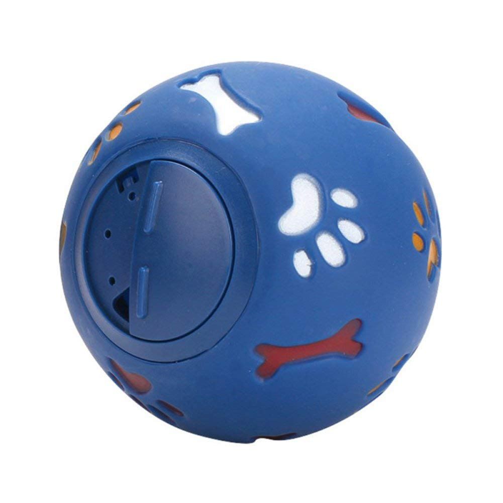 RONSHIN Pet products, non-toxic, no smell, paw print bone leakage food ball