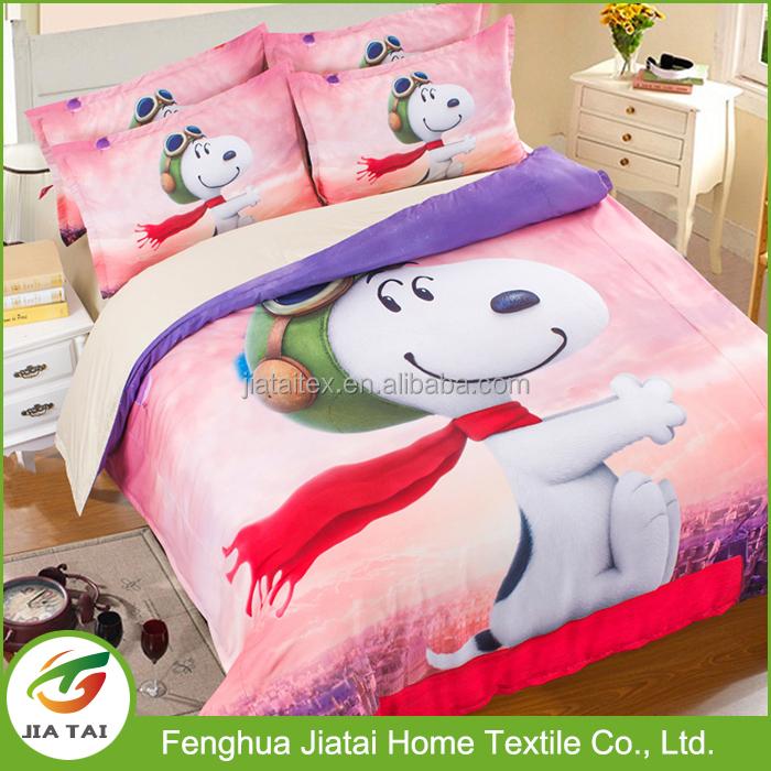 b005e3b062 Atacado jogo do fundamento crianças animal bonito dos desenhos animados  snoopy jogo de cama