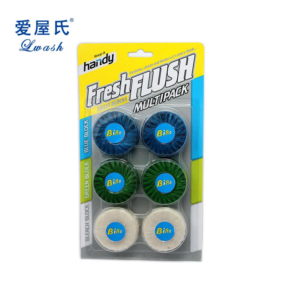 2 Pk Blue Bubble Toilet Bowl Cleaner Deodorant Toilet