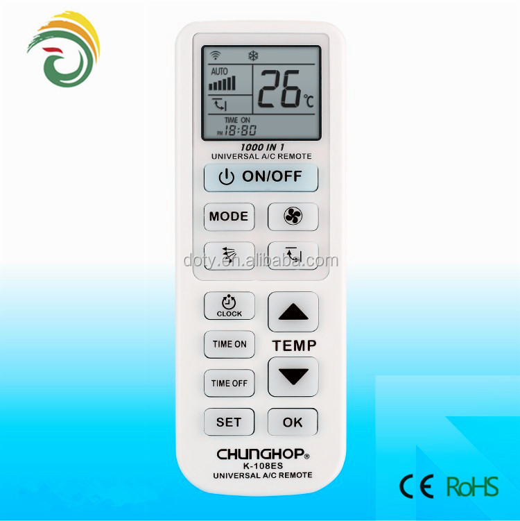 With different models york air conditioner remote control