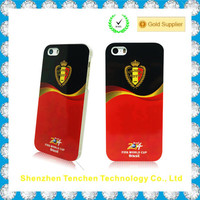 Newest promotional world cup case for iPhone, accept custom