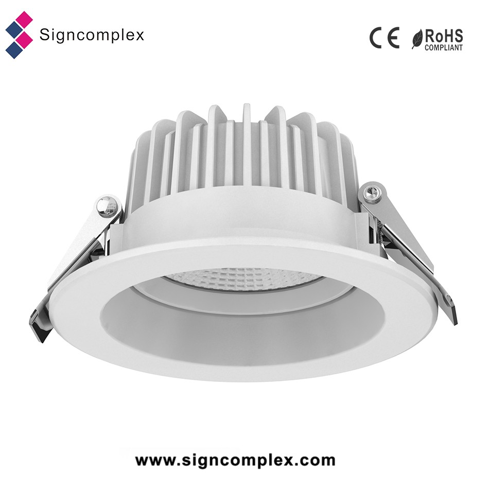 China Manufacture Cob High Power 35w Led Downlight 250mm