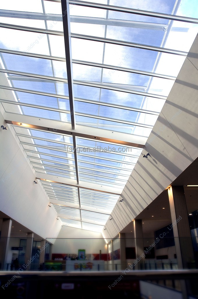 Architectural Commercial Curved Glass Porch Roof Buy