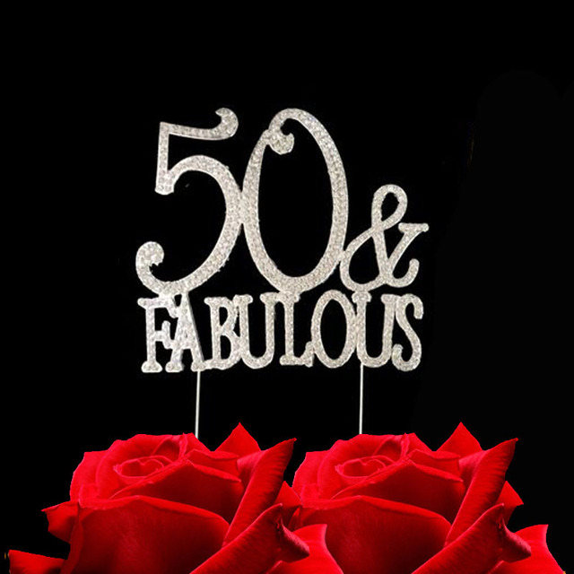 50th birthday cake topperSource quality 50th birthday cake topper