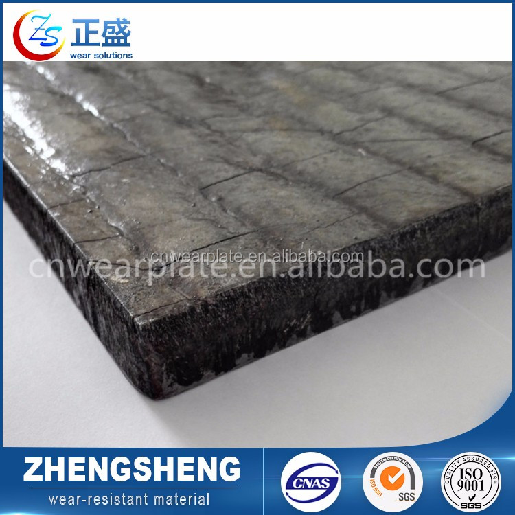 Factory directly submerged arc welding abrasion resistant stainless steel