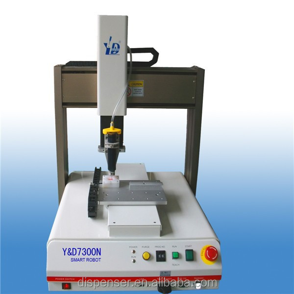 xy table automatic adhesive dispenser for liquid epoxy resin