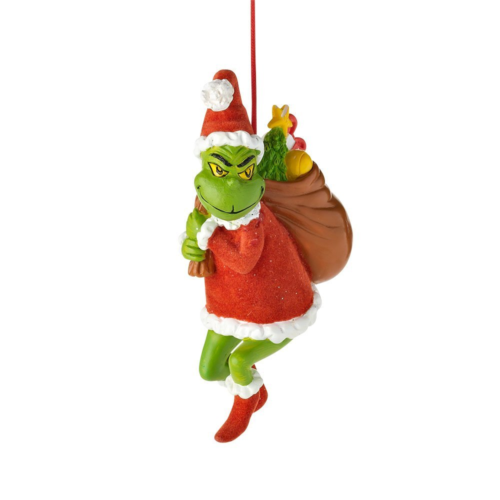Department 56 Grinch Grinch Stealing Christmas Ornament, 4.625-Inch