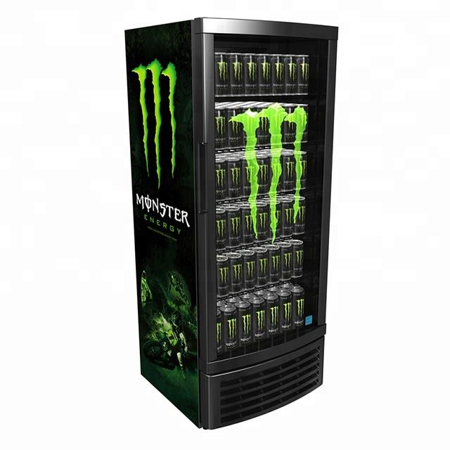 Super Upright Monster Energy Drink Display Fridge, View monster energy FM-43