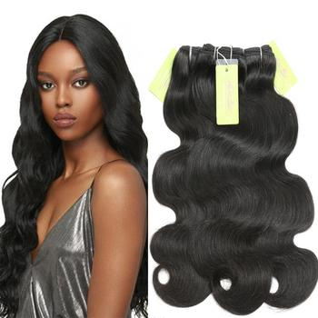 Body Wave hair Bundles Brazilian Italian Weave Human Hair Extension Fast Shipping Sew in Extensions Best Selling Amazon Product