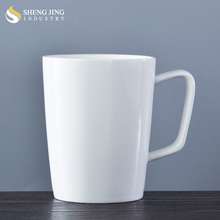 Factory Cheap GRANDE Tea Cup White Ceramic 16oz Coffee Mug With Logo