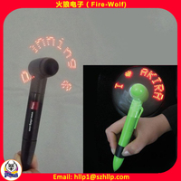 Manufacturer Supply Advertising promotion gifts pretty fan pen for school bank insurance company