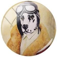 Картина для домашних питомцев TAFREE Bulldog, Такса, овчина, 25 мм круглый стеклянный кабошон для подвесного брелка, аксессуары для ожерелий(Китай)