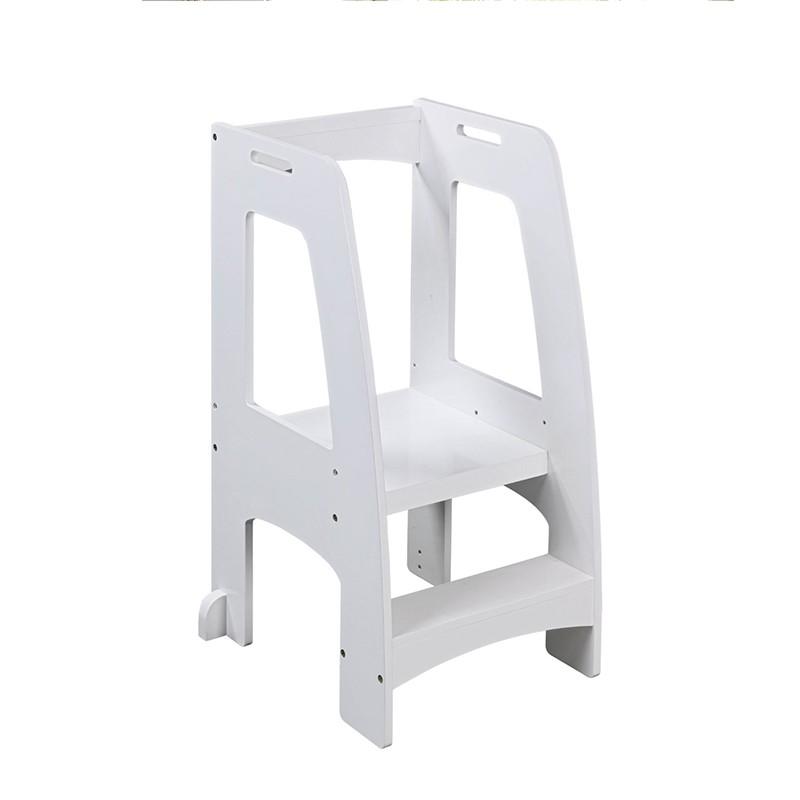 New Design Step Up Kitchen Helper Stools Kids Ladder Stool With Handrail Foot