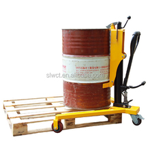 350kg Portable Hydraulic Manual Drum Trolley