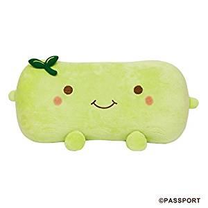 Hannari Tofu Plush Pillow Green Tea Tofu Stuffed Pillow