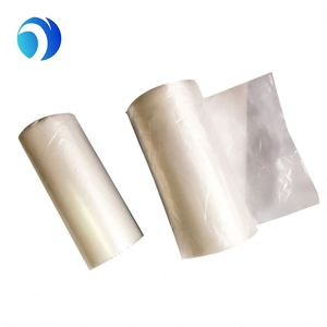 Clear Food packaging plastic flat bag on roll