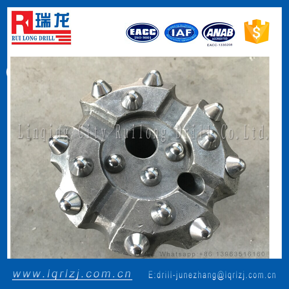 Good price rock drilling carbide dth thread button bits/top hammer drilling tools