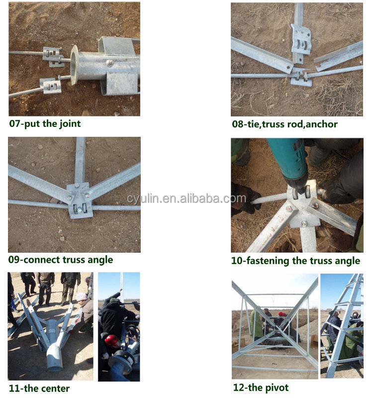 Agriculture Center Pivot Irrigation System Mounted Water