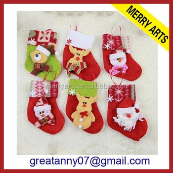 2016 New Design Felt Christmas Stocking Bucilla Christmas Stocking ...