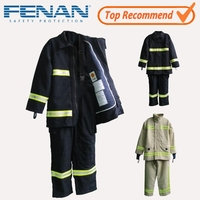 High Performance EN469 Fire Fighting Fireproof Suit, nomex fireman suit