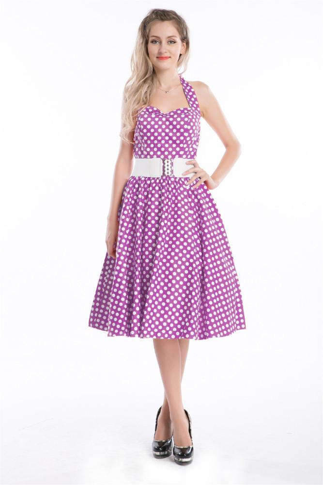Venta al por mayor vestido de los años 60-Compre online los mejores ...