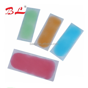 2018 Hydrocolloid headache Cooling Patch cool gel sheet pain relief patch cold fever treatment