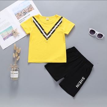 2019 wholesale designer summer kid children sets clothing with good quality and service
