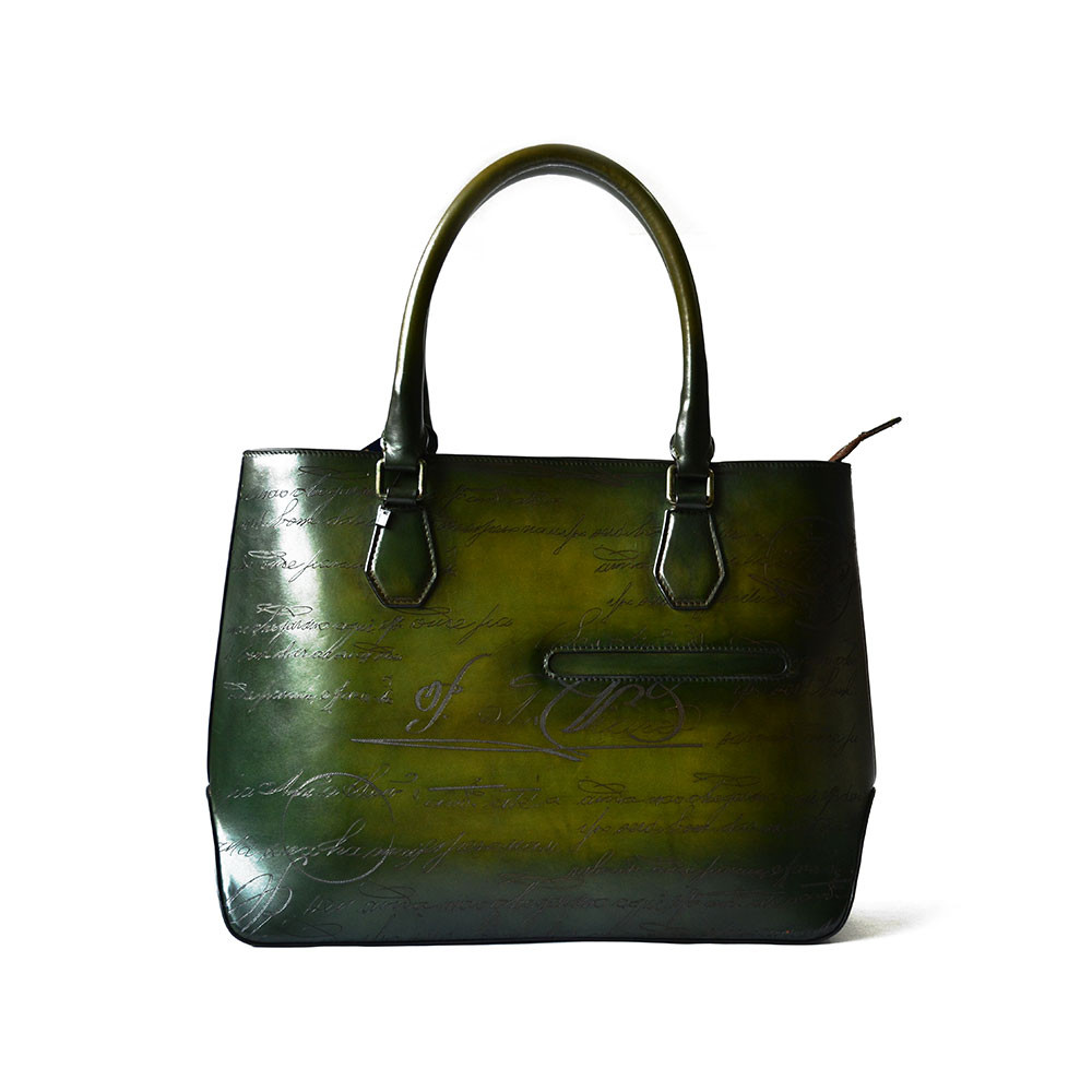 Texas Leather Manufacturing Handbags Women Hand Brush Off Luxury Tote Bag