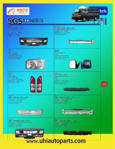 minibus body/spare parts/accessories--front bumper grilles headlamp mirror taillamp rear bumper etc for Toyota 05 hiace