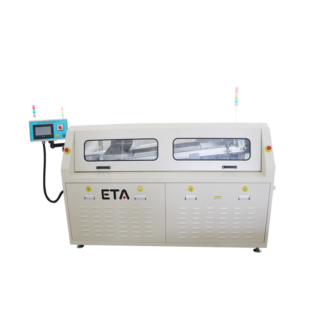 ETA Small Industries Wave Soldering Machine for Welding SMT line PCB Solder Paste