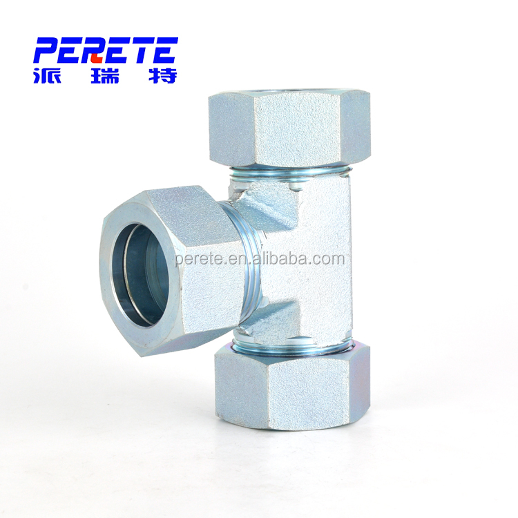 Eaton Standard Ac Ad Metric Pipe Fittings Hydraulic Equal Tee - Buy Eaton  Hydraulics Fitting,Hydraulic Equal Tee,Equal Tee Product on Alibaba com
