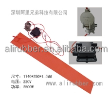 Oil drum/LPG silicone heating plate
