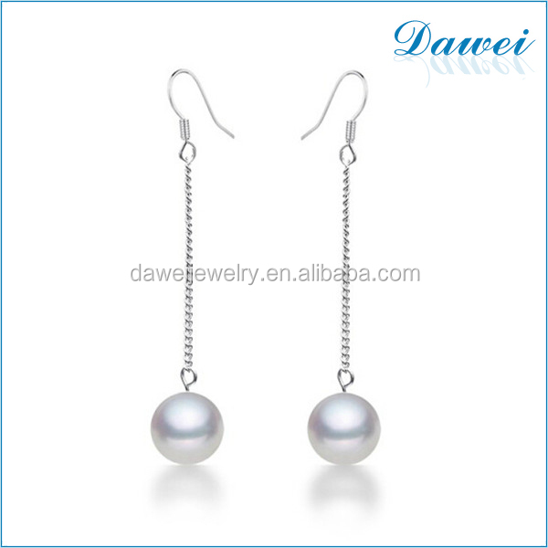 women accessories long chain pearl earrings wholesale