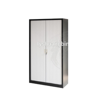 New style full height plastic roller door storage file cabinet cupboards with combination lock