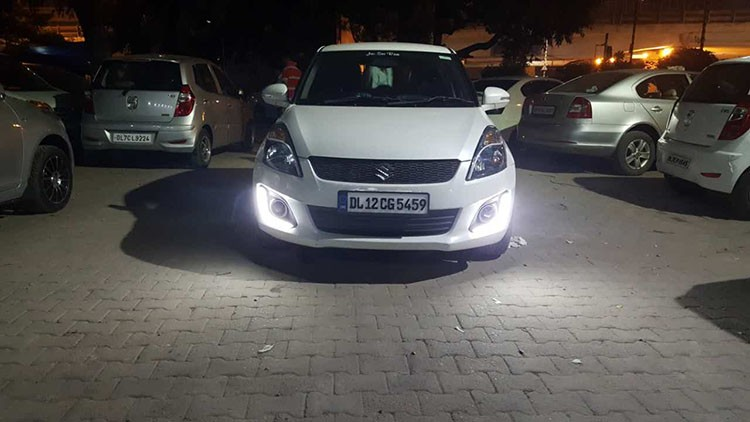 2016 New Daytime Running Light For Maruti Suzuki Swift Led