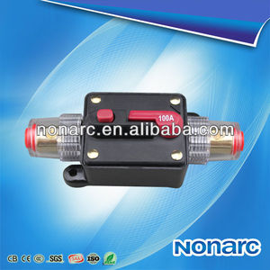 NQ5-03 100A Car Audio Inline Circuit Breaker Fuse for 12V Protection,type of electric circuir breakers