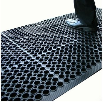 Rubber Floor Mat >> Comfortable Workshop Antigatigue Rubber Floor Mats Grease Resistance