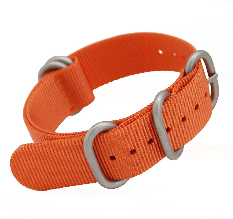 MetaStrap 22mm Nylon Watch Band Zulu Strap